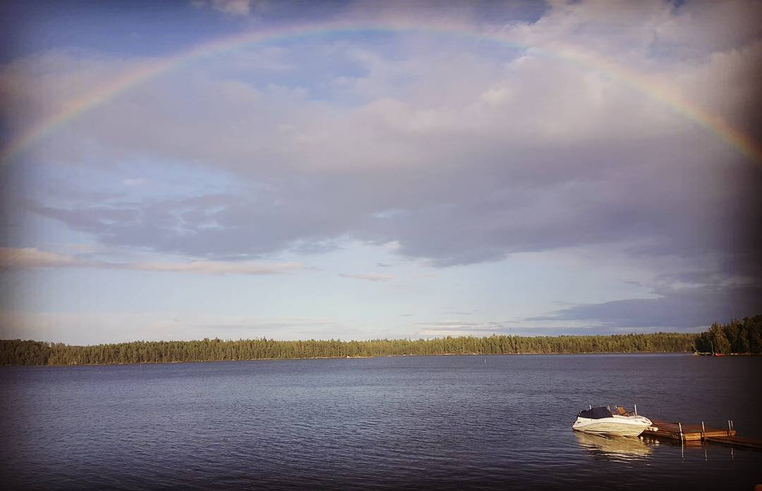Tradition! pride ala Sjöstugan! #pride #regnbåge #rainbow