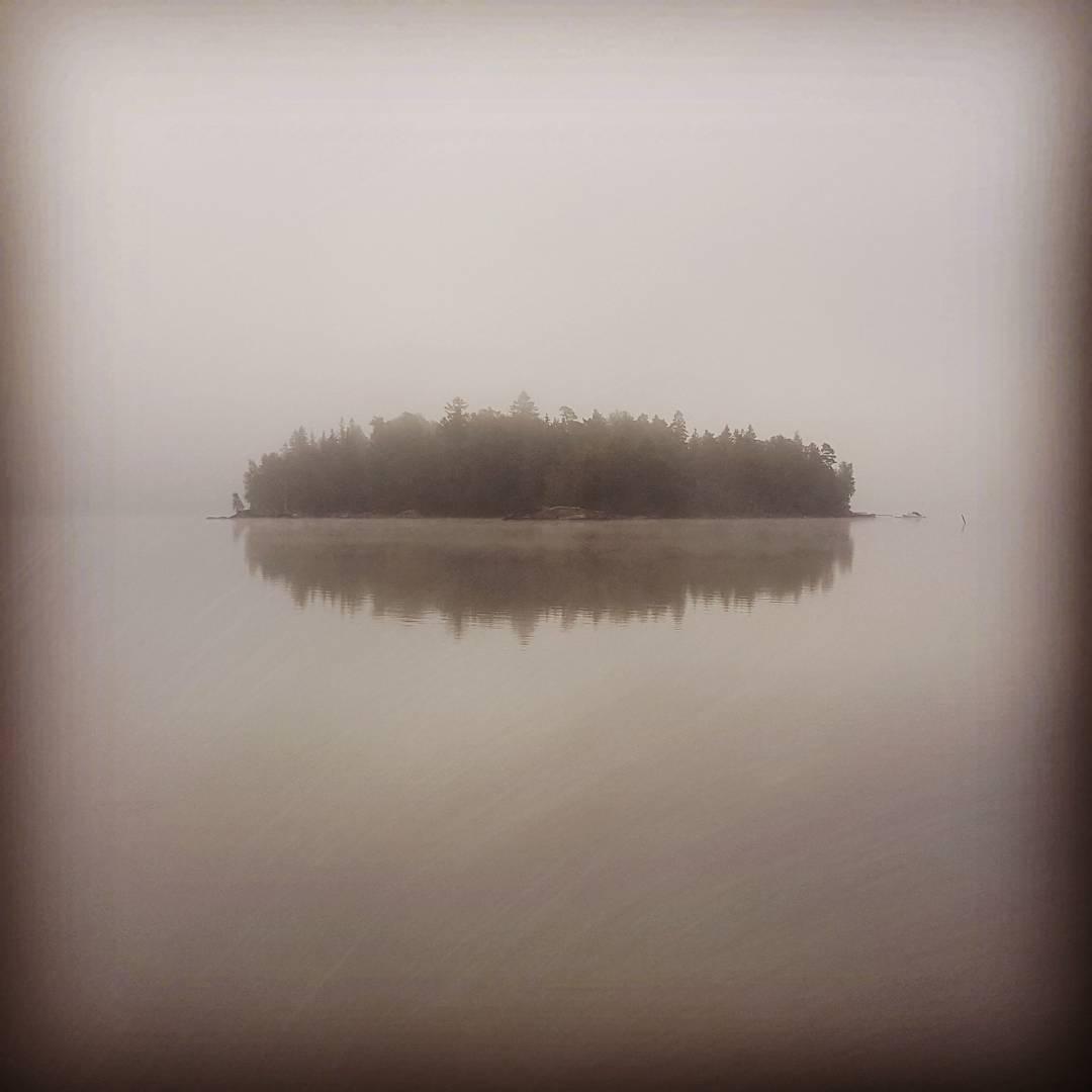 Lite lagom dimmig morgon! #dimma #fog #morgon #ön
